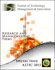 View Vol. 8 (2013): Special Issue ALTEC: Research and Management at Firms
