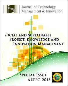 View Vol. 8 (2013): Special Issue ALTEC: Social and Sustainable Project, Knowledge and Innovation Management